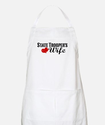 State Trooper's Wife Apron