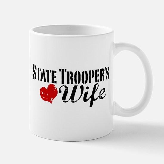 State Trooper's Wife Mug