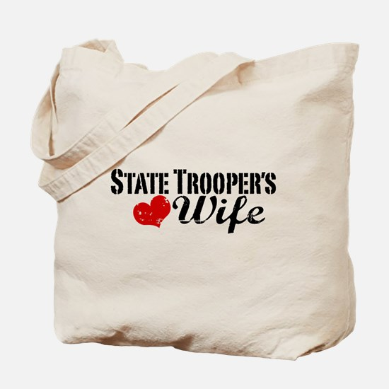 State Trooper's Wife Tote Bag