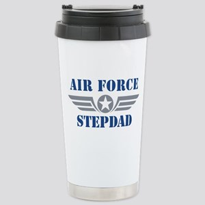 Air Force Stepdad Stainless Steel Travel Mug
