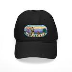 St Francis / dogs-cats Black Cap