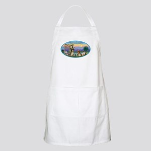 St Francis / dogs-cats Apron