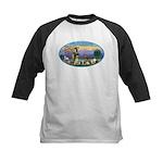 St Francis / dogs-cats Kids Baseball Jersey