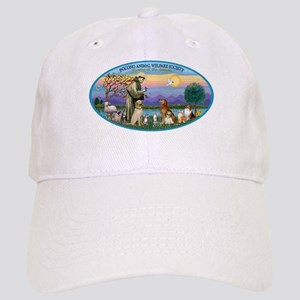 St Francis / dogs-cats Cap