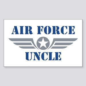 Air Force Uncle Sticker (Rectangle)