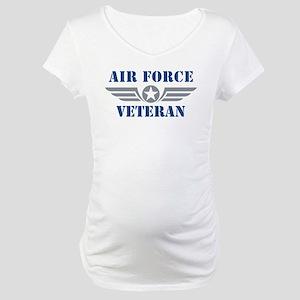 Air Force Veteran Maternity T-Shirt