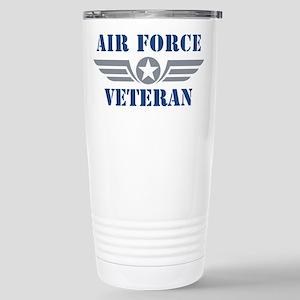 Air Force Veteran Stainless Steel Travel Mug