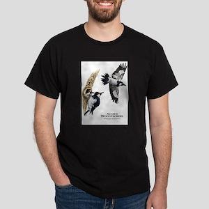 Acorn Woodpeckers Dark T-Shirt