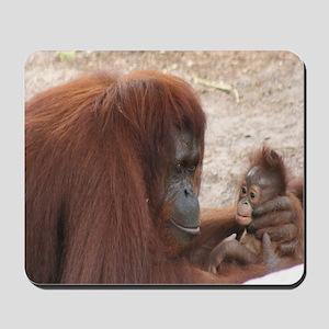 Mousepad-Orangutan