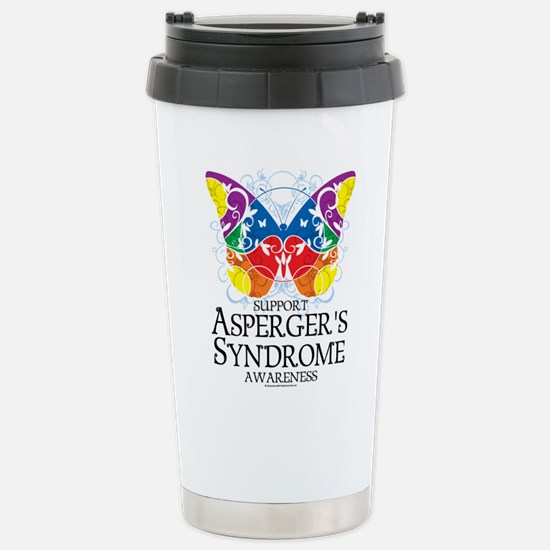 Asperger's Syndrome Butterfly Stainless Steel Trav
