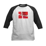 Danish Free Speech Kids Baseball Jersey