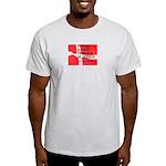 Danish Free Speech Ash Grey T-Shirt