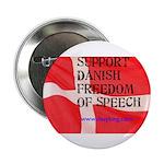 """Danish Free Speech 2.25"""" Button (10 pack)"""