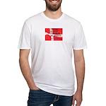 Danish Free Speech Fitted T-Shirt