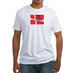 Danish Free Speech Fitted T-Shirt
