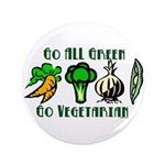"Go All Green 2 3.5"" Button (100 pack)"