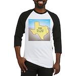 Texas Organic Free-range Gas Baseball Tee
