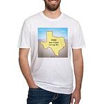 Texas Organic Free-range Gas Fitted T-Shirt