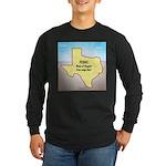 Texas Organic Free-range Long Sleeve Dark T-Shirt