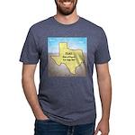 Texas Organic Free-range Ga Mens Tri-blend T-Shirt