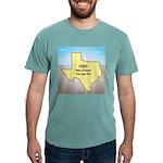 Texas Organic Free-rang Mens Comfort Colors® Shirt