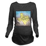 Texas Organic Free-r Long Sleeve Maternity T-Shirt