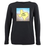 Texas Organic Free-range Plus Size Long Sleeve Tee