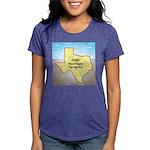 Texas Organic Free-range Womens Tri-blend T-Shirt