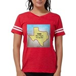 Texas Organic Free-range Gas Womens Football Shirt