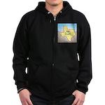 Texas Organic Free-range Gas Zip Hoodie (dark)