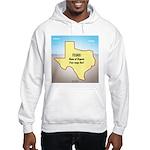 Texas Organic Free-range Gas Hooded Sweatshirt