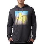 Texas Organic Free-range Gas Mens Hooded Shirt