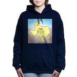 Texas Organic Free-range Women's Hooded Sweatshirt