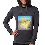 Texas Organic Free-range Gas Womens Hooded Shirt