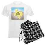 Texas Organic Free-range Gas Men's Light Pajamas