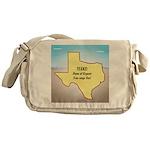 Texas Organic Free-range Gas Messenger Bag