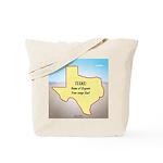 Texas Organic Free-range Gas Tote Bag