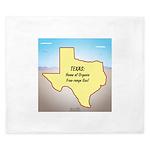Texas Organic Free-range Gas King Duvet