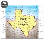 Texas Organic Free-range Gas Puzzle