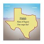 Texas Organic Free-range Gas Tile Coaster