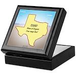 Texas Organic Free-range Gas Keepsake Box