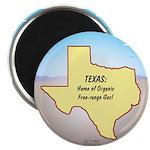 Texas Organic Free-range Gas Magnet