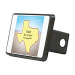 Texas Organic Free-range G Rectangular Hitch Cover