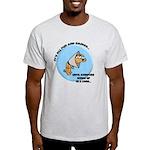 Fuzzbucket Cone Of Shame: Light T-Shirt