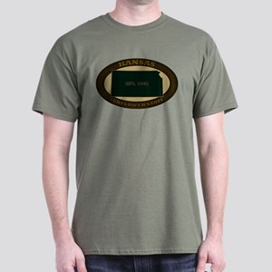 Kansas Est. 1861 Dark T-Shirt