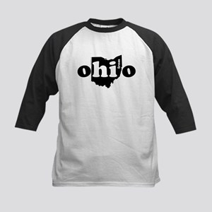 Hi From Ohio Kids Baseball Jersey