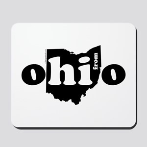 Hi From Ohio Mousepad