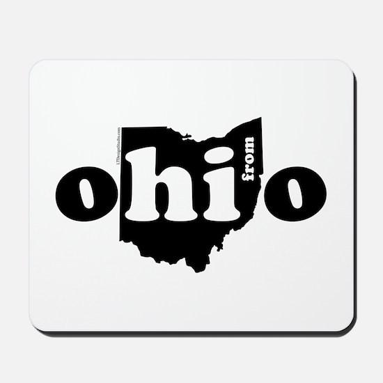 Hi From Ohio Mousepad