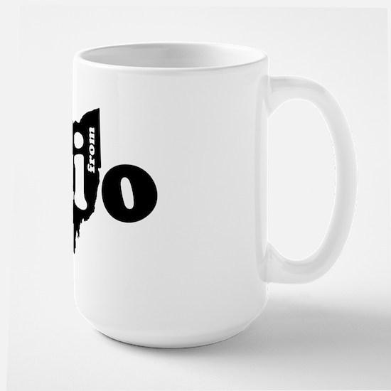 Hi From Ohio Large Mug