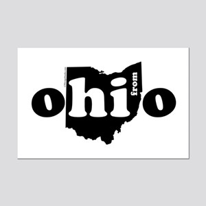 Hi From Ohio Mini Poster Print